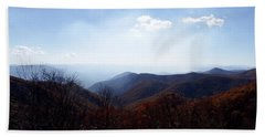 Smoke Of The Smokies Beach Towel