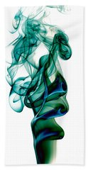 Beach Towel featuring the photograph smoke XXIII by Joerg Lingnau