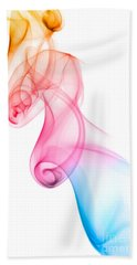 Beach Towel featuring the photograph smoke XXV by Joerg Lingnau