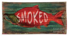 Smoked Fish Beach Towel