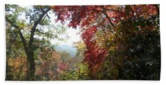Smokies 13 Beach Towel by Val Oconnor