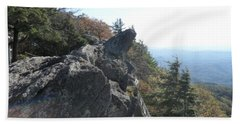 Smokies 18 Beach Towel by Val Oconnor