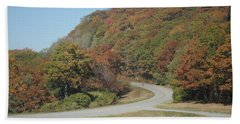Smokies 9 Beach Towel by Val Oconnor