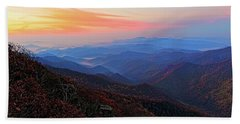 Beach Towel featuring the photograph Dawn From Standing Indian Mountain by Daniel Reed