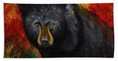 Smoky Mountain Black Bear  Beach Sheet