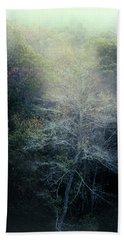 Smoky Mountain Trees Beach Towel