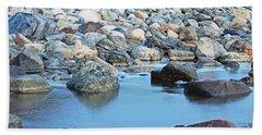 Smooth Rocks Beach Towel