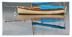 Beach Towel featuring the photograph Smooth Sailing by Werner Padarin