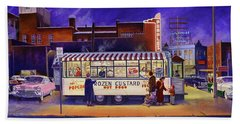 Snack Wagon Beach Towel