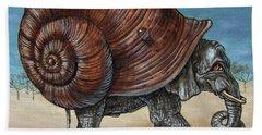 Snailephant Beach Towel