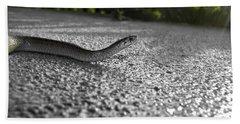 Snake In The Sun Beach Sheet