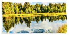 Snake River Grand Teton National Park Beach Sheet