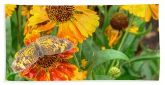 Sneezeweed Beach Towel