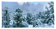 Snow 07-072 Beach Sheet by Scott McAllister