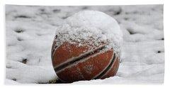 Snow Ball Beach Towel