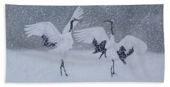 Snow Dancers Beach Sheet
