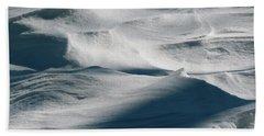Snow Drift Beach Towel