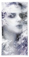 Snow Fairy  Beach Towel by Gun Legler