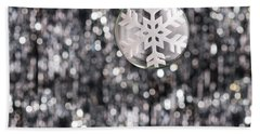 Beach Towel featuring the photograph Snow Flake by Ulrich Schade