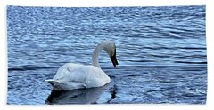 Snow Goose Beach Towel