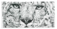 Snow Leopard  Beach Sheet