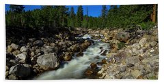 Snow Melt Stream Beach Towel