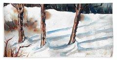 Snow Orchard Beach Sheet