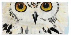 Snow Owl Beach Sheet