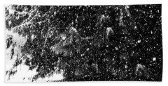 Beach Sheet featuring the photograph Snow by Yulia Kazansky