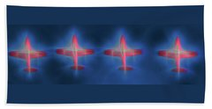 Snowbird Formation 2 Beach Towel
