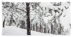 Snowy-4 Beach Sheet