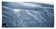 Snowy Days Beach Sheet