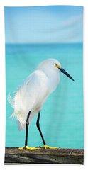 Snowy Egret Beach Sheet