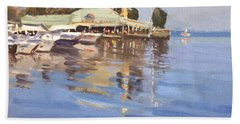Snug Harbour At Port Credit Beach Towel