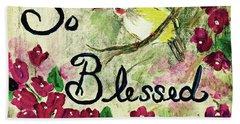 So Blessed Beach Sheet