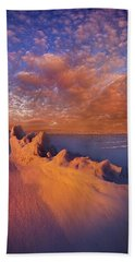 Beach Sheet featuring the photograph So It Begins by Phil Koch