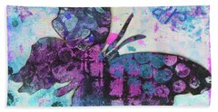Soar Butterfly Beach Towel