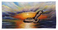 Soaring High Beach Towel by Dianna Lewis