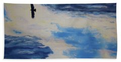 Soaring   Beach Towel by Lisa Rose Musselwhite