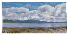 Soda Lake After The Storm Beach Sheet