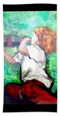 Beach Towel featuring the digital art Soda Pop Child by Deleas Kilgore