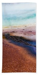 Beach Towel featuring the photograph Soda Water by Jeffrey Jensen
