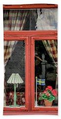Soderkoping Window Beach Sheet by KG Thienemann