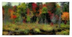 Beach Towel featuring the photograph Soft Autumn Color by David Patterson