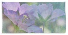 Beach Sheet featuring the photograph Soft Blue by Ann Lauwers