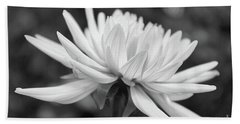 Soft Details Black And White Beach Towel