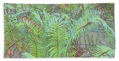 Soft Ferns Beach Sheet
