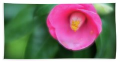Soft Focus Flower 1 Beach Towel