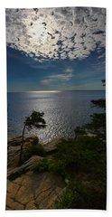 Soft Light On Otter Point Beach Towel