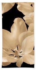 Soft Petals Beach Sheet
